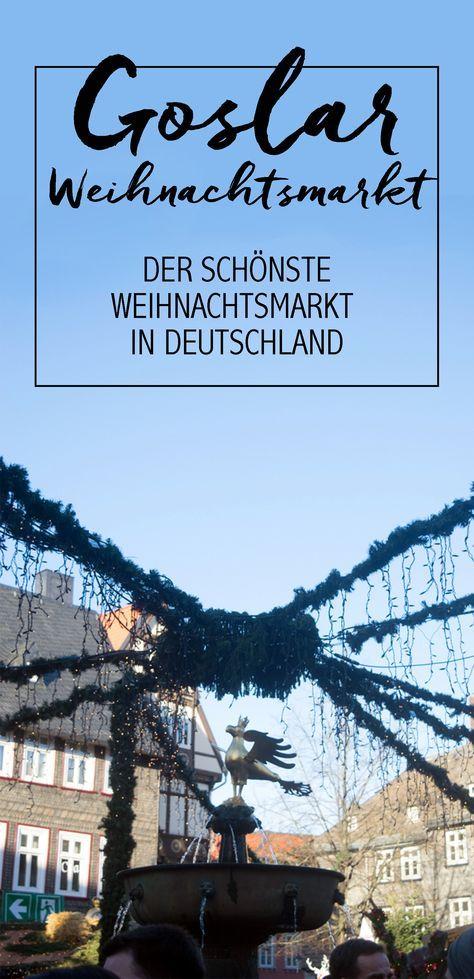Ein Besuch auf dem schönsten Weihnachtsmarkt deutschlands? In der Goslar Altstadt findet Ihr den tollsten Weihnachtsmarkt plus Weihnachtswald in ganz Deutschland. Kommt vorbei!