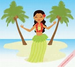Image result for Polynesian Girl Cartoon