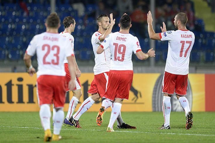 SMR, CHE, SAN MARINO, SCHWEIZ, FUSSBALL, QUALIFIKATION, EOROPAMEISTERSCHAFT, GRUPPE E, 2016 UEFA EURO, EM2016, FUSSBALL EM,
