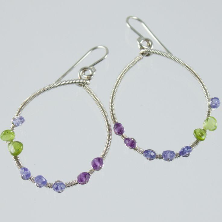 61 best Gemstone Earrings - Gemstone Dangle and Hoop Earrings images ...