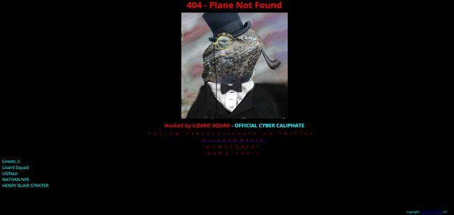 El grupo de hackers Lizard Squad hackea sitio web de Arolineas Malasia.