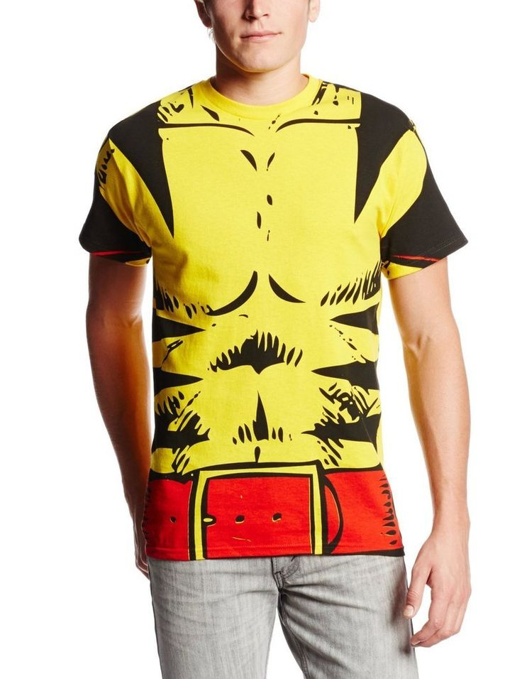 Looking for a DIY Logan Wolverine Halloween costume?  Or what about a Weapon X Marvel Halloween costume?  This officially-licensed Marvel X-Men Wolverine Costume T-shirt is the perfect way to start your DIY Wolverine Halloween costume out right.