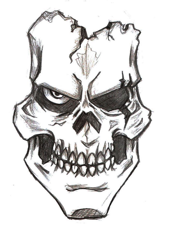 Skull Drawing Beautiful Skulls Drawing Easy Skull Drawings Skull Drawing