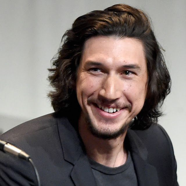 Adam Driver - I think he's growing on me. I love his character in Girls!