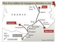 Le TGV Paris-Barcelone inauguré ce dimanche