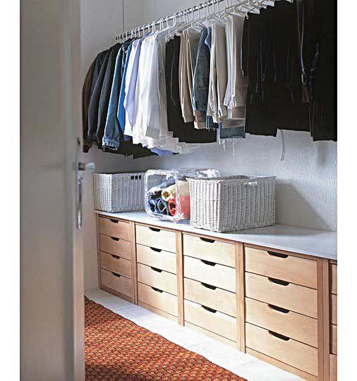 Um bom projeto de armário facilita a vida - Casa