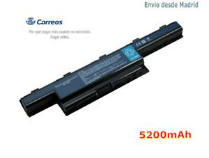 a 5200mah bateria para acer aspire 5333 5551 5741 5733 5749 5750 5755 as10d51