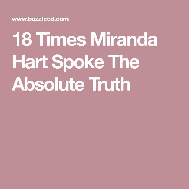 18 Times Miranda Hart Spoke The Absolute Truth