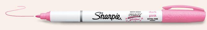 Sharpie Paint Pens | Glitter Paint Markers. http://www.sharpie.com/