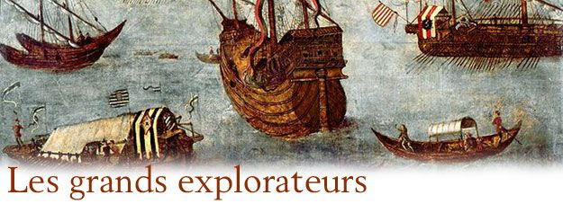 Recherches sur: >> Christophe Colomb >> Jacques Cartier >> James Cook >> Hernan Cortés >> Vasco de Gama >> Jean-François de Lapérouse >> Fernand de Magellan >> Marco Polo >> Amerigo Vespucci