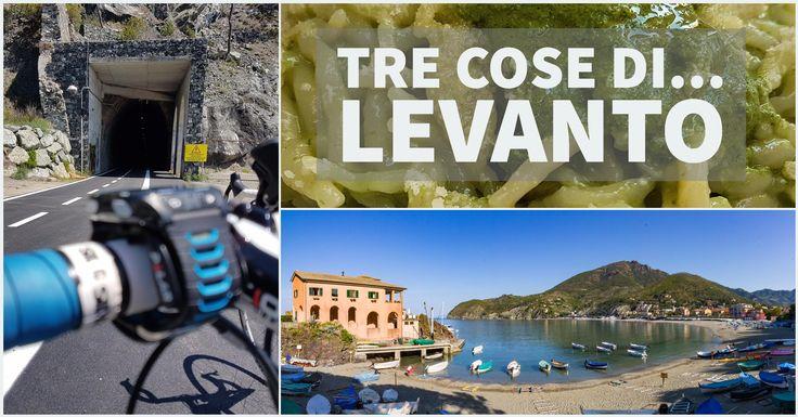 Tre cose di... Levanto. I miei consigli per un bellissimo itinerario in bicicletta tra mare e montagna, per un pasto a base di prodotti locali e per un...