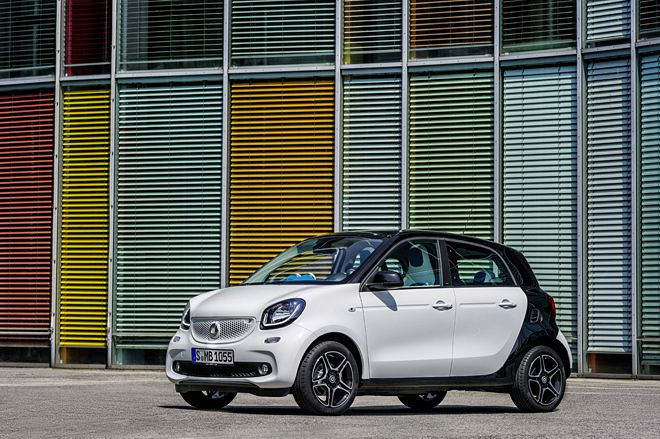 New Smart for Four