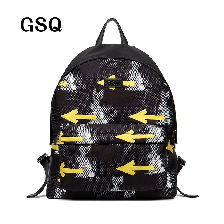 51.99$  Buy now - http://aliawn.worldwells.pw/go.php?t=32702592930 - GSQ Personality Cartoon Caracter Men Backpack High Quality Water Proof Oxford Hot Zipper Style Students Bag Fashion Travel Bags