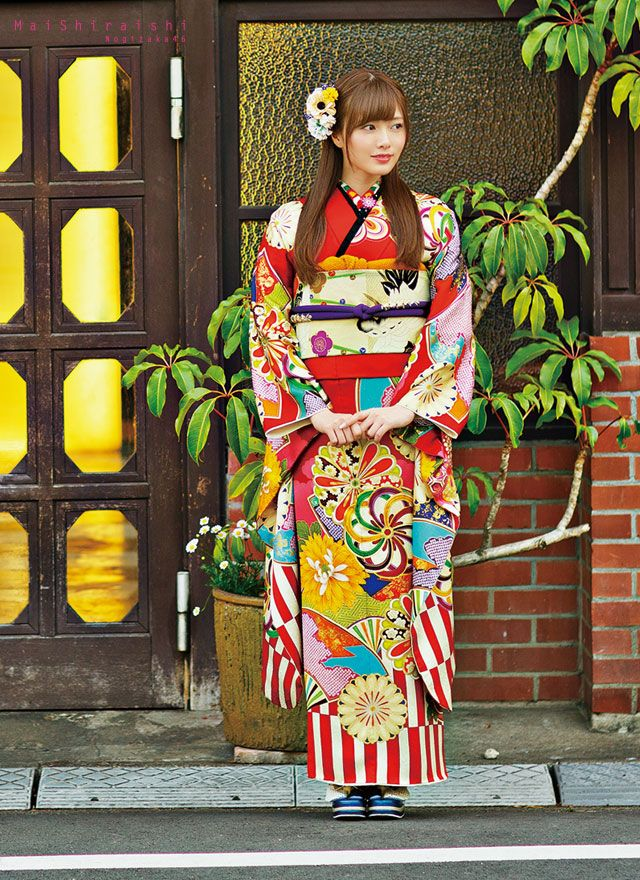 Shiraishi Mai | Nogizaka46 Shiraishi Mai Kimono | Kyoto Sweet Collection | Part 1