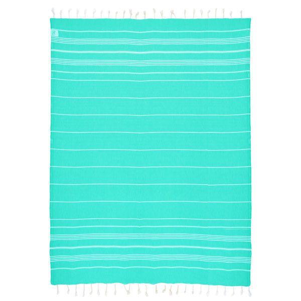 Oversized Towel | 2 Person Towel | Extra Large Towel | Hidden Zipper Pocket | Seafoam Green | Beach Towel | www.shopdirty30.com