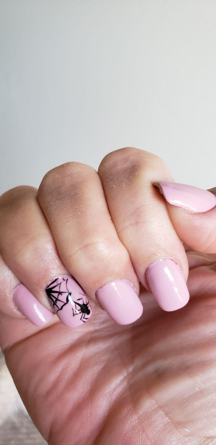 October nails – Halloween