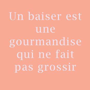 Humour Un baiser