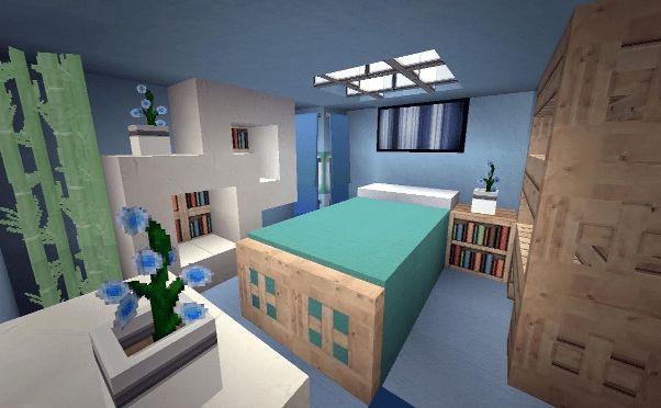 Creative Minecraft Bedroom Ideas Minecraft Bedroom Minecraft Modern Bedroom Minecraft Modern Small bedroom ideas minecraft