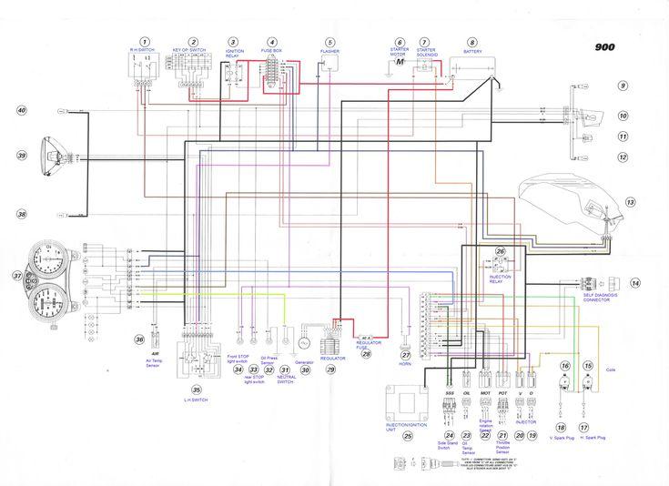 ducati s2r 800 wiring diagram basic wiring diagram u2022 rh rnetcomputer co 2005 Yamaha YZF R6 Wiring-Diagram Magneto Wiring-Diagram