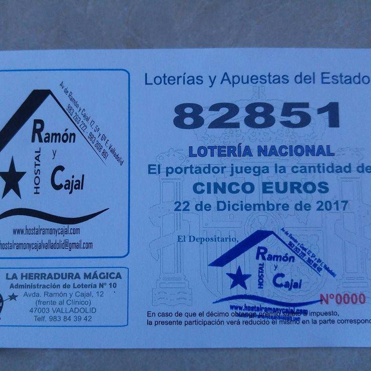 Ya tenemos participaciones sin recargo de la #loteria  y si cae aqui? #Valladolid #suerte #sorteo #sort #loterianacional