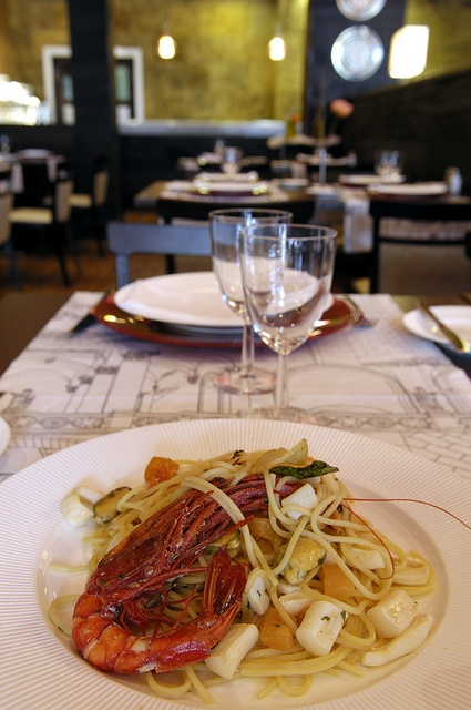 "Italian restaurant from the menu "" Don Giovanni"""