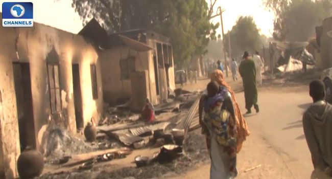 #See pictures from Boko Haram massacre in Dalori #vibes247