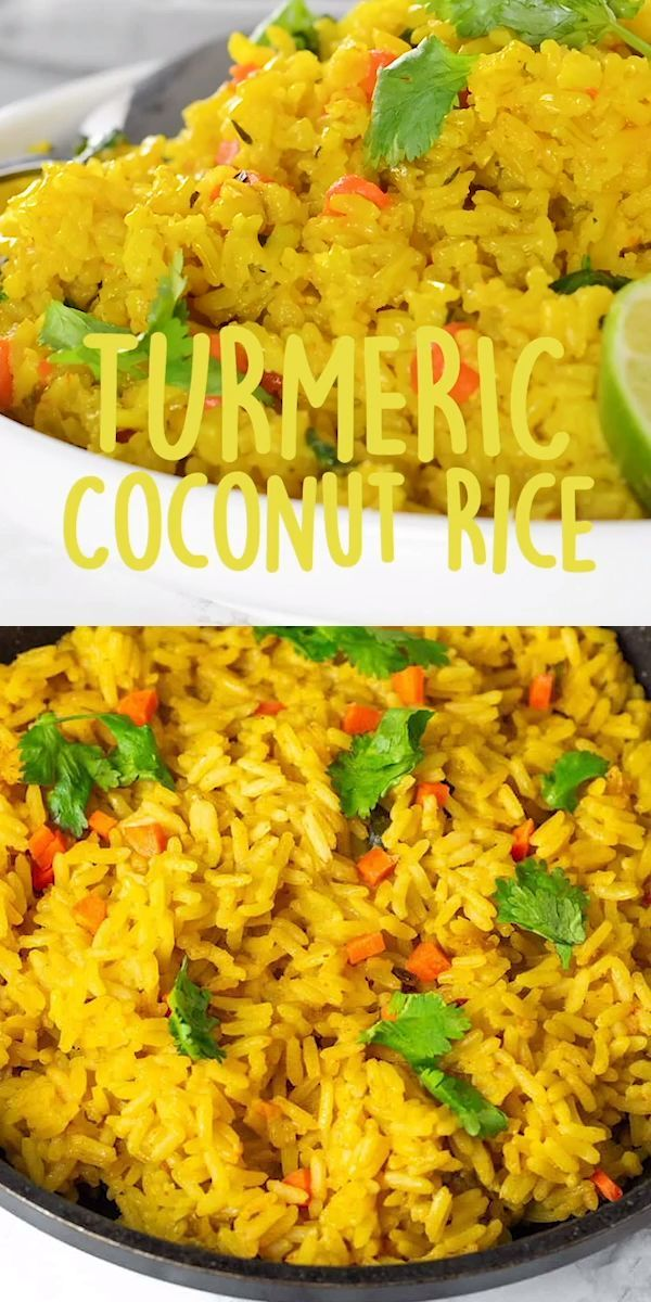 Turmeric Coconut Rice – ~FOODnDRINK~ – #Coconut #F…