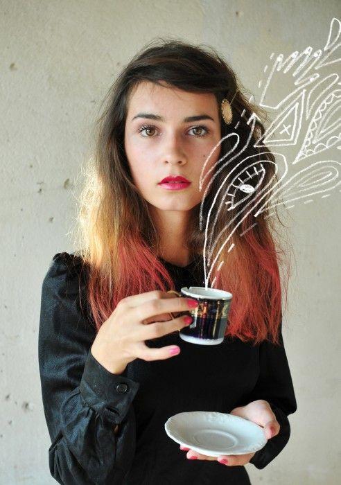 cool hair! modern fairytale