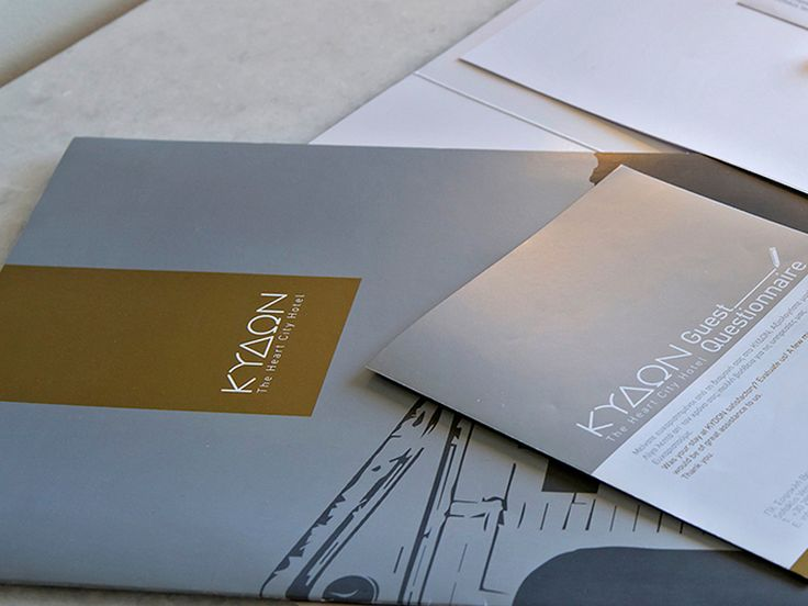 Stationary for Kydon Hotel