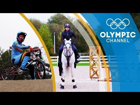(1) BMX vs Equestrian   Can They Switch Sports   Sports Swap - YouTube