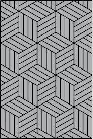 Patroon met kubusen