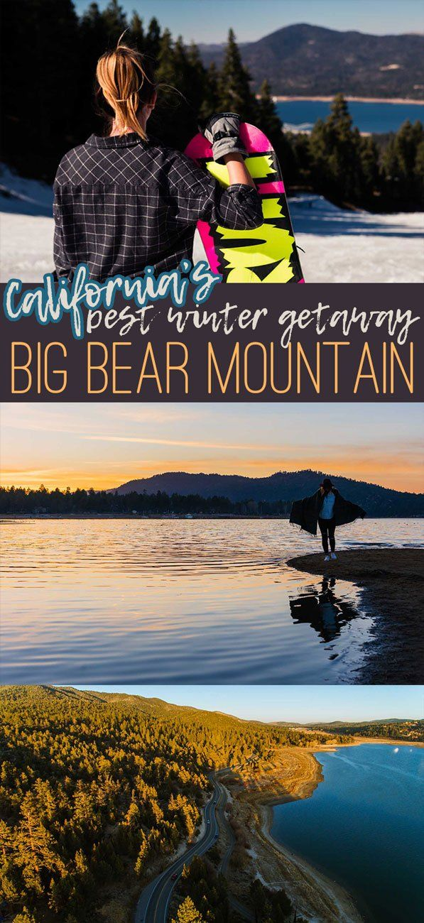 Best Things to do in Big Bear Southern California's best winter getaway where you can surf and snowboard in the same day! #traveldestinations #californiatravel #USAtravel US Travel | California things to do in | Travel Destinations | Snowboarding | Skiing | US Destinations