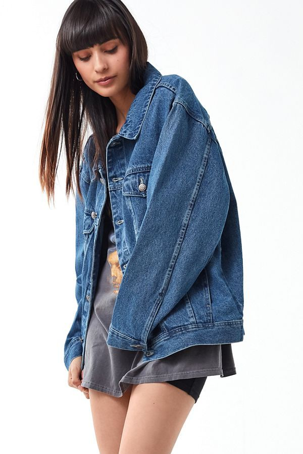 Vintage Oversized Denim Jacket Oversized Denim Jacket Denim Jacket Denim Jacket Fashion