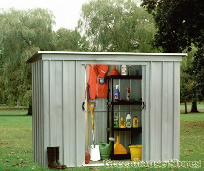 Buy the Yardmaster Metal Shed for sale from Greenhouse Stores with free UK home delivery. & 14 best Yardmaster Metal Garden Storage Sheds UK images on Pinterest ...