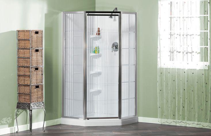 Lila French Corner shower - MAAX