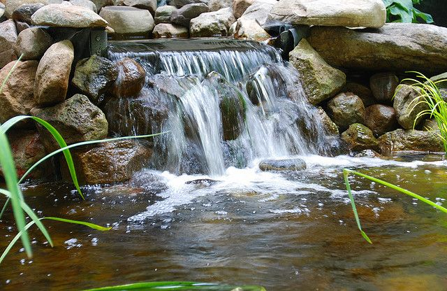 backyard waterfalls | backyard waterfall 2 backyard waterfall pond waterfeature