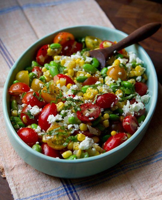 Easy Summer Recipe: Succotash Salad