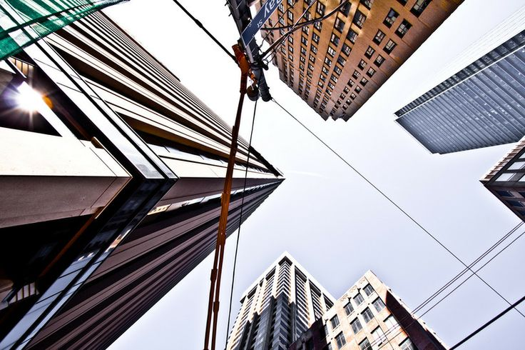 Toronto Skyscrapers and Lines