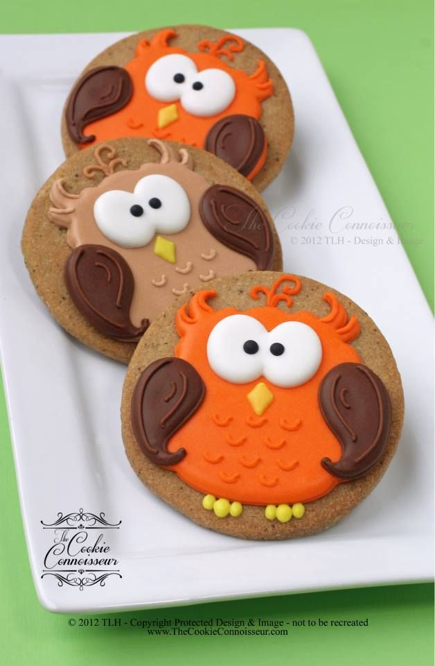 Cute owls for Fall.