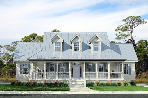 Best 25 tin roof house ideas on pinterest riverside cottage metal roof houses and simple - Coastal homes mobel ...