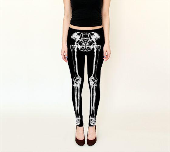 Leg Bones Leggings - Available Here: http://artofwhere.com/shop/product/53952