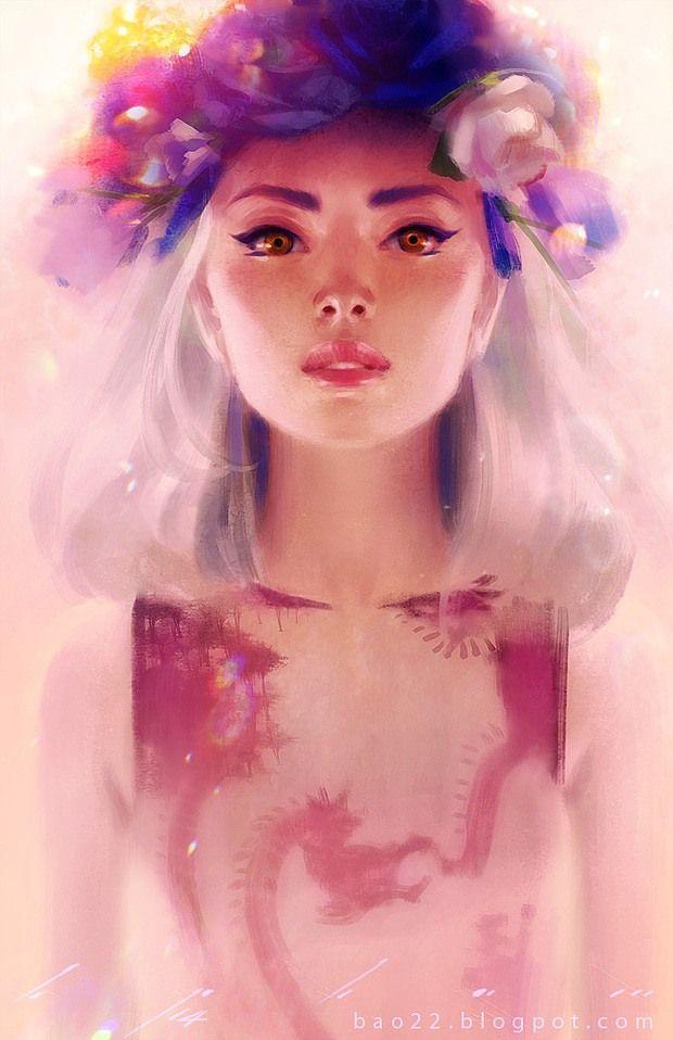 Digital Illustrations by Bao Pham