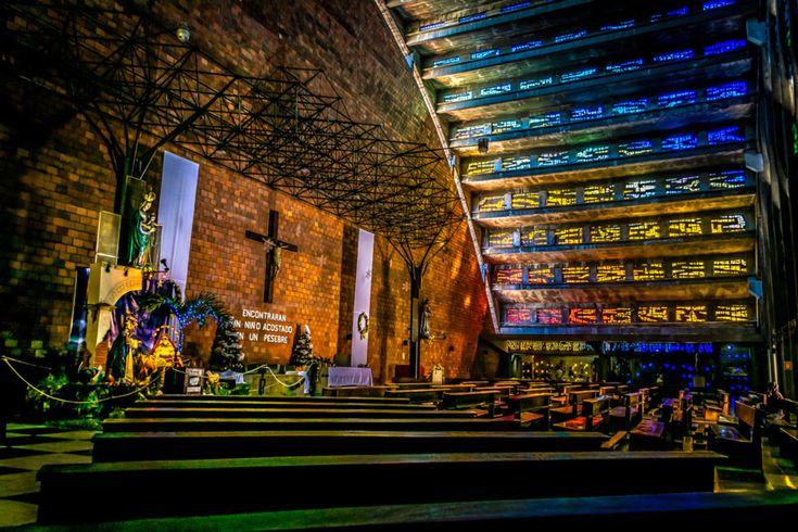 Iglesia El Rosario, San Salvador, El Salvador - A look inside the surprisingly beautiful church of El Rosario, in the heart of San Salvador—also known as Sívar, by the locals.
