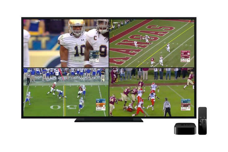 ESPN's Apple TV app streams four live feeds at onceJust in time for football season ESPN updated its Apple TV app to include a handy new feature for sports fans. Thanks to tvOS MultiCast you can now watch up to four live streams at once across all of the network's programming options. This means yo... Credit to/ Read More : http://ift.tt/2uPf0oy This post brought to you by : http://ift.tt/2teiXF5 Dont Keep It Share It !!