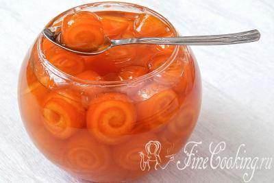 Шаг 10. Варенье из апельсиновых корок готово – посмотрите, какие милые завитушки!