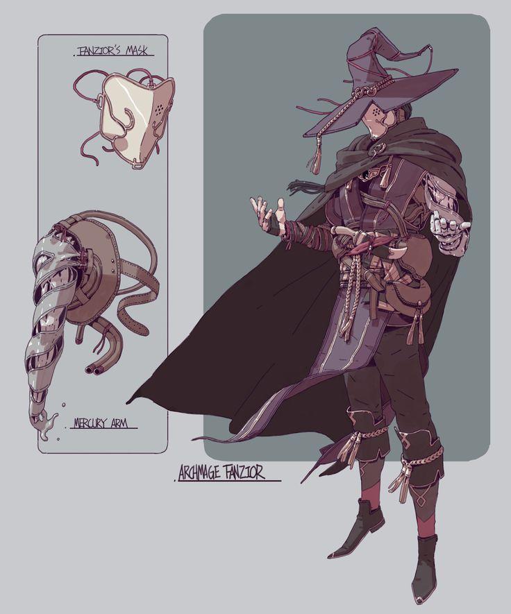 ArtStation - Fantasy character designs, Adam Lee