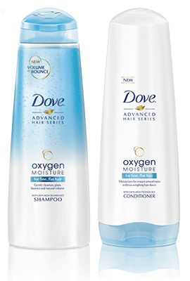 Review, Ingredients: Dove Oxygen Moisture Shampoo, Conditioner, Leave In Foam, Root Lift Hair Spray
