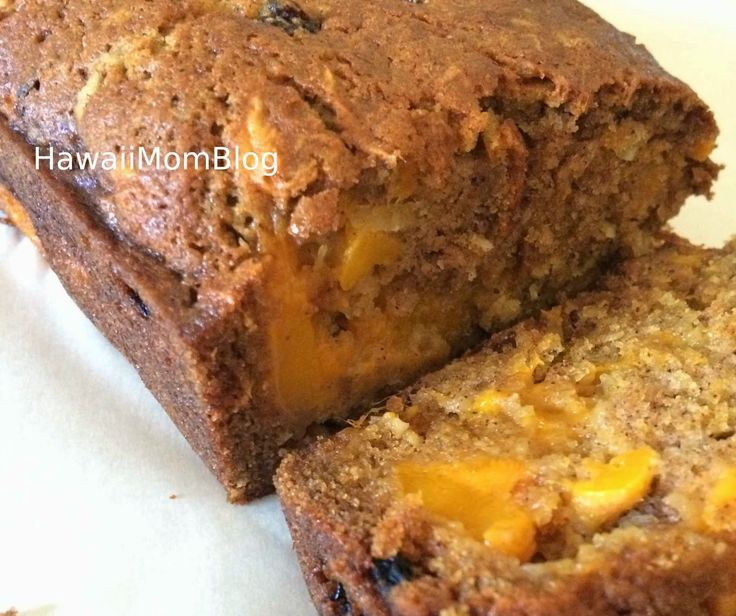 Hawaii Mom Blog: Mango Bread Recipe