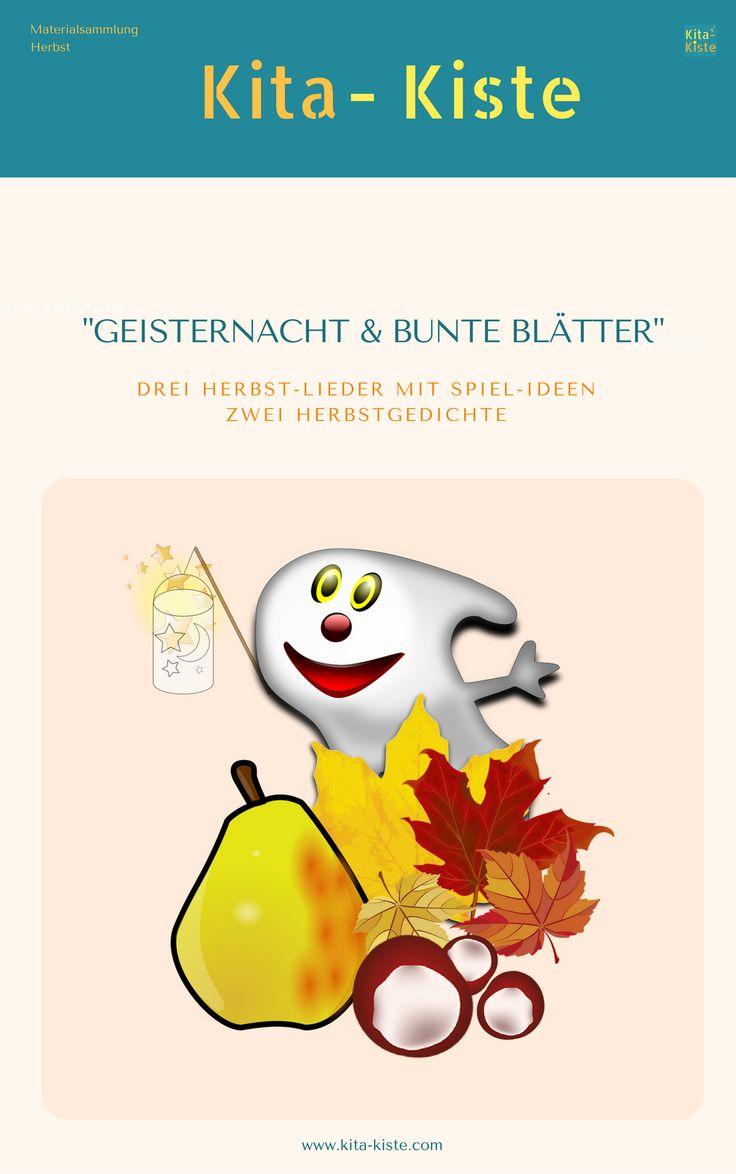 Herbstlieder & Herbstgedichte für die Kita, Materialsammlung Herbst, eBook, Kita-Kiste