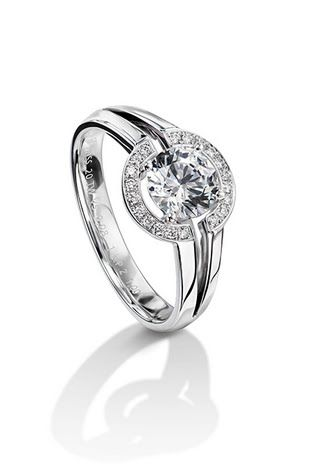 Halo Engagement Rings | Brides.com